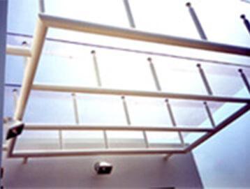 ガラス屋根